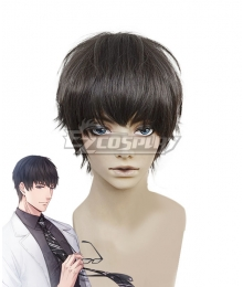 Mr Love: Queen's Choice Evol x Love Lucien Shimon Xu Mo Black Cosplay Wig