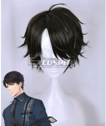 Mr Love: Queen's Choice Evol x Love Victor Li Zeyan Zen Black Cosplay Wig