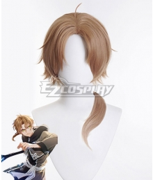 Mushoku Tensei: Jobless Reincarnation Rudeus Greyrat B Brown Cosplay Wig
