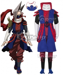 My Hero Academia Boku No Hero Akademia Edgeshot Shinya Kamihara Cosplay Costume - No Pauldrons