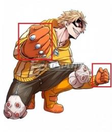 My Hero Academia Boku No Hero Akademia Fat Gum Taishiro Toyomitsu Cosplay Costume - Only Gloves