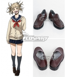 My Hero Academia Boku no Hero Akademia Himiko Toga Black Cosplay Shoes