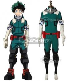 My Hero Academia Boku No Hero Akademia Izuku Midoriya Deku New Edition Gamma Suit 2.0 Cosplay Costume - A Edition