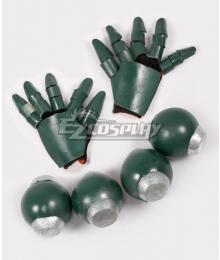 My Hero Academia Boku No Hero Akademia Katsuki Bakugou Gloves and Attachable Belt Grenade Props Cosplay Accessory Prop