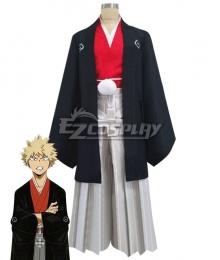 My Hero Academia Boku No Hero Akademia Katsuki Bakugou Happy New Year Kimono Cosplay Costume