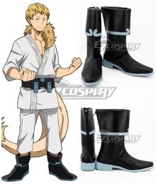 My Hero Academia Boku No Hero Akademia Mashirao Ojiro Black Blue Cosplay Shoes
