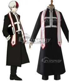 My Hero Academia Boku No Hero Akademia Priest Shoto Todoroki Cosplay Costume