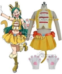 My Hero Academia Boku no Hero Akademia Pussy Cat Ragdoll Cosplay Costume