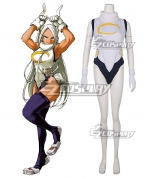 My Hero Academia Boku No Hero Akademia Rumi Usagiyama Rabbit Hero Mirko Cosplay Costume