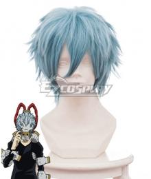 My Hero Academia Boku No Hero Akademia Tomura Shigaraki Blue Cosplay Wig 445H