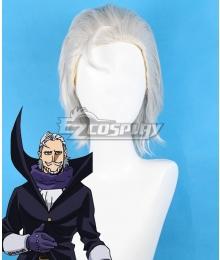 My Hero Academia Boku no Hero Akademia Danjuro Tobita Gentle Criminal White Cosplay Wig