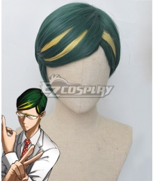 My Hero Academia Mirai Sasaki  Sir Nighteye Green Cosplay Wig