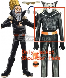 My Hero Academia Boku no Hero Akademia Present Mic Cosplay Costume - Only Jacket, Shoulder Pads