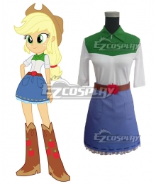 My Little Pony Equestria Girls Applejack Cosplay Costume
