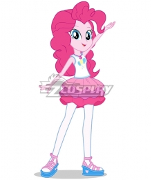 My Little Pony Equestria Girls Pinkie Pie Balloon Edition Cosplay Costume