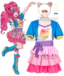 My Little Pony: Equestria Girls Pinkie Pie Cosplay Costume
