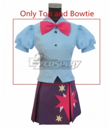 My Little Pony Equestria Girls Twilight Twilight Sparkle Cosplay Costume - Only Top and Bowtie