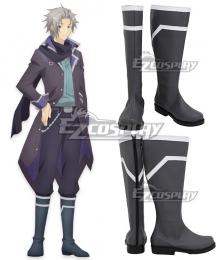 My Next Life as a Villainess: All Routes Lead to Doom! Alan Stuart Grey Shoes Cosplay Boots