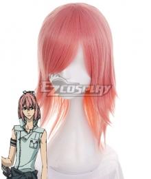 Nabari no Ou Shimizu Raikou Pink Cosplay Wig