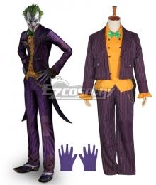 DC Comics Batman: Arkham Asylum Joker Cosplay Costume