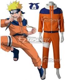 Naruto Uzumaki Naruto Cosplay Costume - Premium Edition