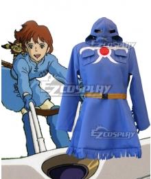 Nausicaä of the Valley of the Wind Kaze no Tani no Naushika Princess Zandra Cosplay Costume