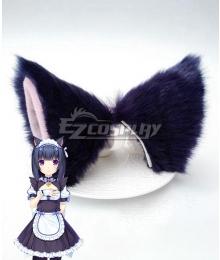 Nekopara Shigure Minaduki Blue Ears Cosplay Accessory Prop