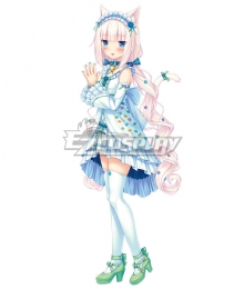Nekopara Vol.4 Vanilla Casual Dress Cosplay Costume