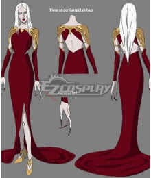Netflix Castlevania Season 3 Carmilla Dress Cosplay Costume