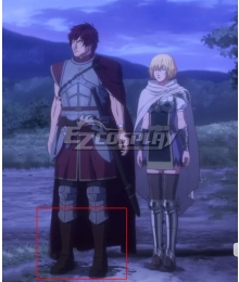 Netflix Dragon's Dogma Anime Ethan Brown Shoes Cosplay Boots