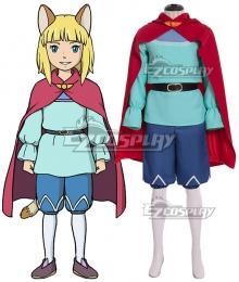 Ni No Kuni II: Revenant Kingdom Evan Cosplay Costume - No Ears and Tail