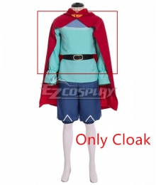Ni No Kuni II: Revenant Kingdom Evan Cosplay Costume - Only Cloak