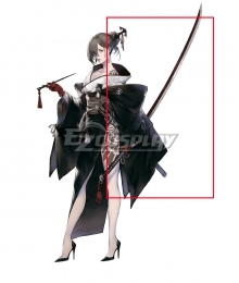 NieR Re[in]carnation Reincarnation Akeha Knife Cosplay Weapon Prop