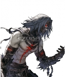 NieR Re[in]carnation Reincarnation Dimis Blue Cosplay Wig