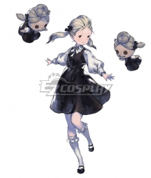 NieR Re[in]carnation Reincarnation Girl in Black B Cosplay Costume