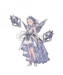 NieR Re[in]carnation Reincarnation Girl in White B Cosplay Costume
