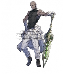 NieR Re[in]carnation Reincarnation Man Clothed in White Cosplay Costume