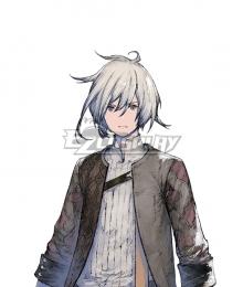 NieR Re[in]carnation Reincarnation Unknown Male Grey Cosplay Wig