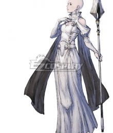 NieR Re[in]carnation Reincarnation Woman Clothed in White C Cosplay Costume