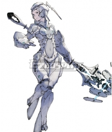 NieR Re[in]carnation Reincarnation Woman Clothed in White D Cosplay Costume