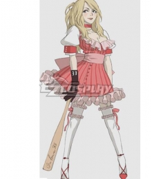 No More Heroes Bad Girl Cosplay Costume