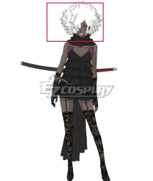 No More Heroes Henry Cooldown Silver Cosplay Wig