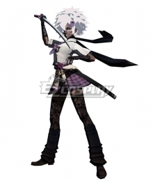 No More Heroes Shinobu Cosplay Costume