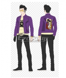 No More Heroes: Travis Strikes Again Travis Touchdown Cosplay Costume