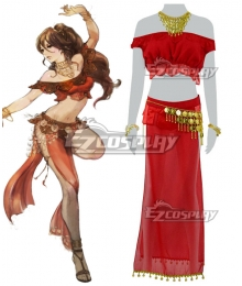 Octopath Traveler Primrose Azelhart Cosplay Costume