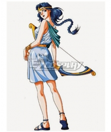 Olympus Guardian Artemis Cosplay Costume
