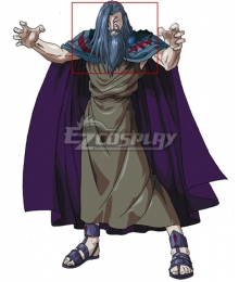 Olympus Guardian Hades Gray Cosplay Wig