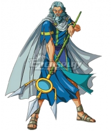 Olympus Guardian Poseidon Cosplay Costume