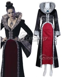 Once Upon a Time Regina Mills Cosplay Costume