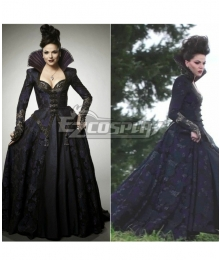 Once Upon a Time The Evil Queen Cosplay Costume